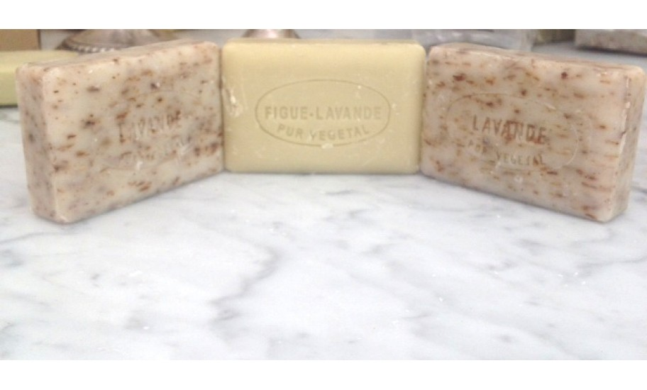 Trio of Lavander Soaps from Provence